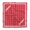 scriks red bandana luxury cotton hypebeast urban street fashion